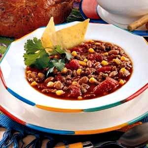 savory taco soup recipe