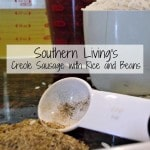 creole sausage with red beans and rice slow cooker recipe: mrshinesclass.com