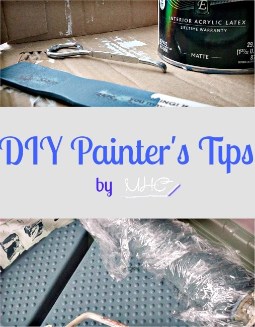 Paint like a pro with tips from a DIYer (whose painting has been complimented by the pros!) at www.mrshinesclass.com