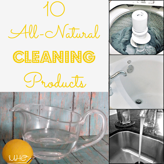 Find 10 All-Natural Cleaning Products at Mrs. Hines' Class