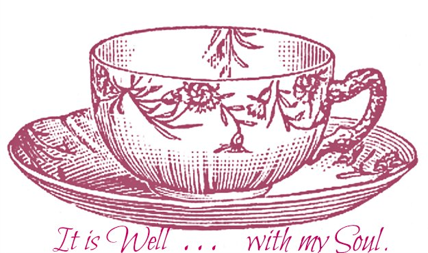 vintage tea cup graphic from Graphics Fairy