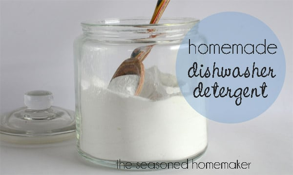 Homemade Dishwasher Detergent by Making Lemonade is one of OVER 80 Amazing Cleaing Tricks featured on Mrs. Hines' Class