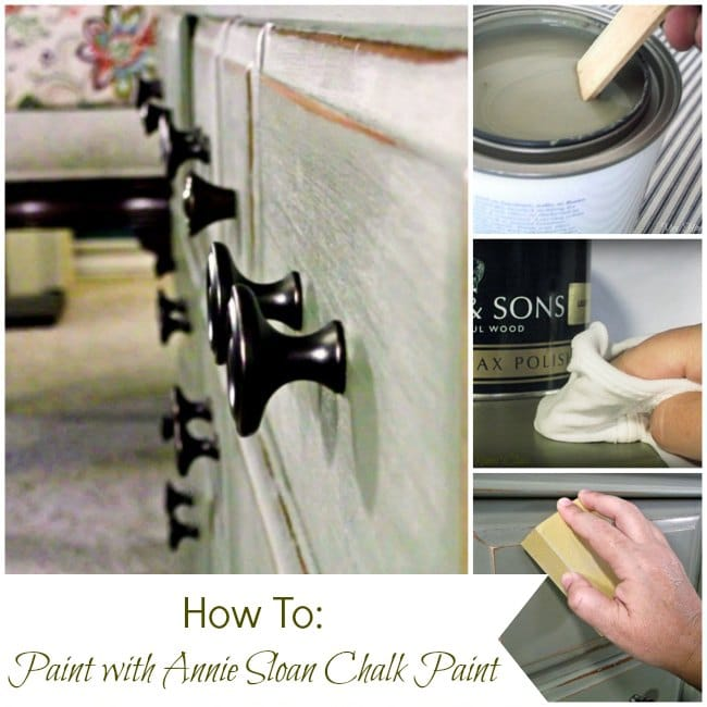 Find Tips for Painting with Annie Sloan Chalk Paint at Mrs. Hines' Class