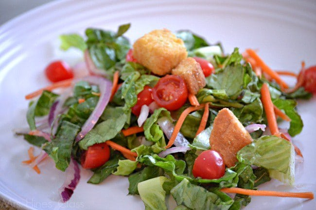 Get the recipe for my copycat Olive Garden salad at www.mrshinesclass.com