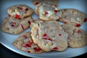 cherry nut drop cookies
