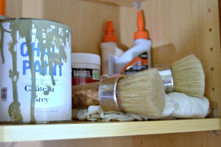 command center paint supplies