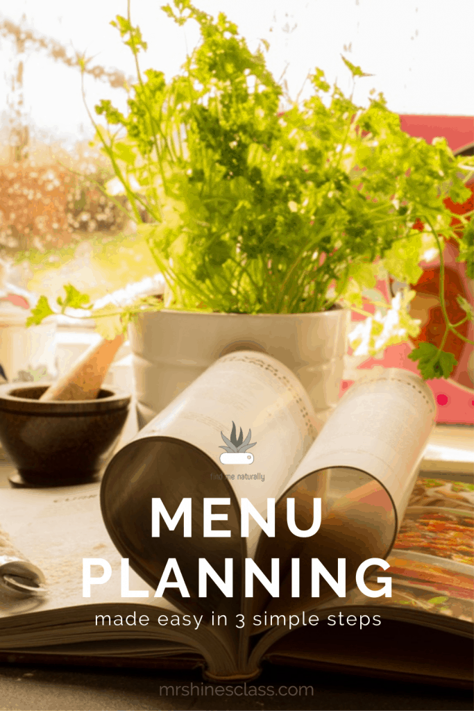 """""""What's for dinner?"""" If that question stresses you out, visit Mrs. Hines' Class for a simple, 3-step menu planning routine."""