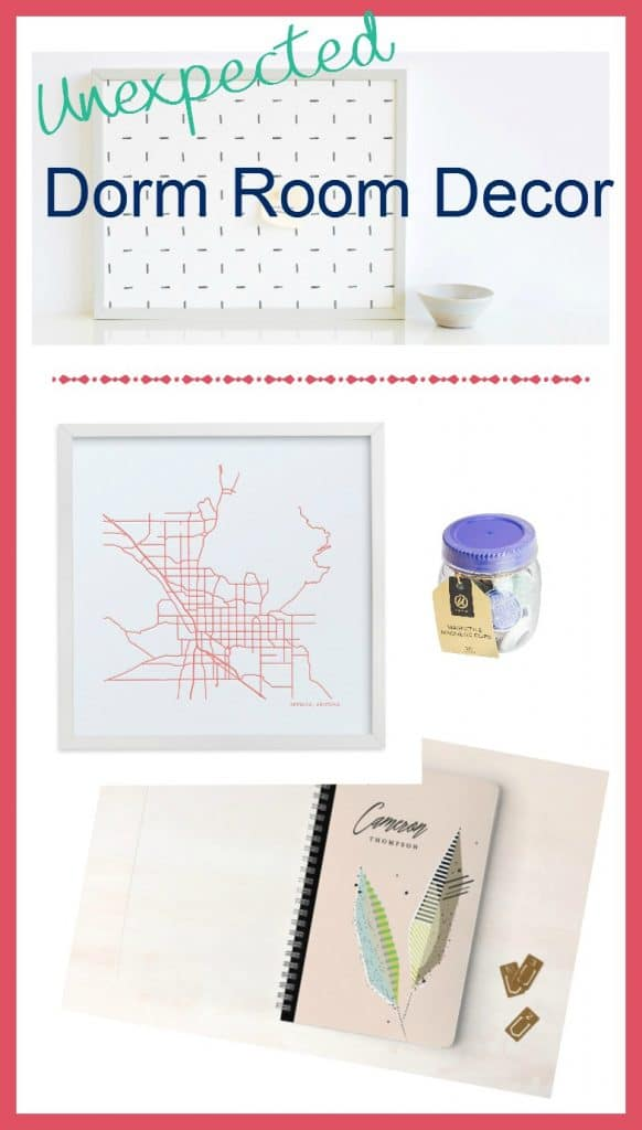 This Dorm Room Decor Guide will help you Decorate a Dorm Room Your College Student Will Love! {Spoiler Alert: Expect the Unexpected!}