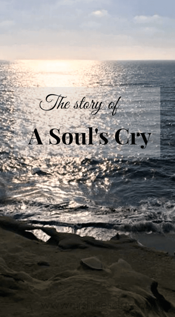 Have you ever wanted to escape your everyday life? Me too. That is, until one night in La Jolla when I heard my soul's cry.