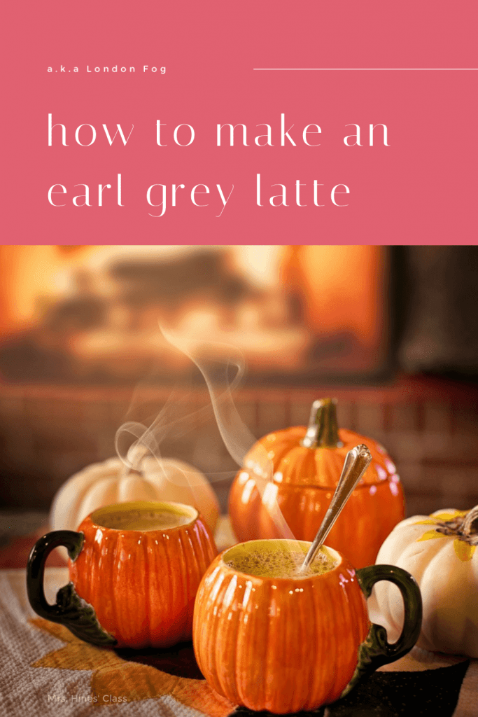 How to Make an Earl Grey Latte